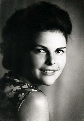 pictures of queen silvia before her marriage the royal