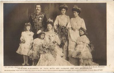 Click image for larger version  Name:Teck Prince Alexander Wedding 1904.jpg Views:1095 Size:47.6 KB ID:260508