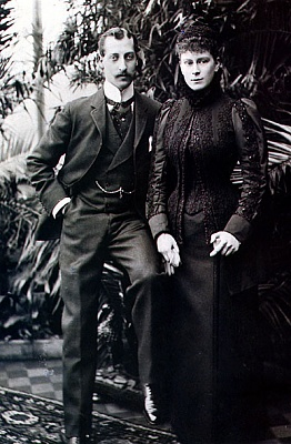 Click image for larger version  Name:Clarence Duke of & May of Teck.jpg Views:2229 Size:96.2 KB ID:261226