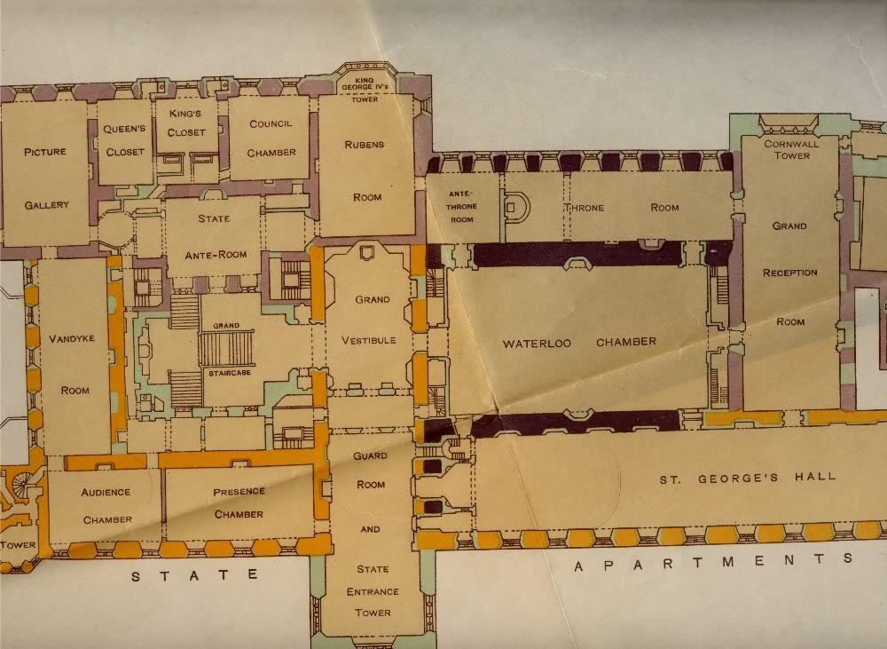 Windsor Castle Floor Plan Matrixhits