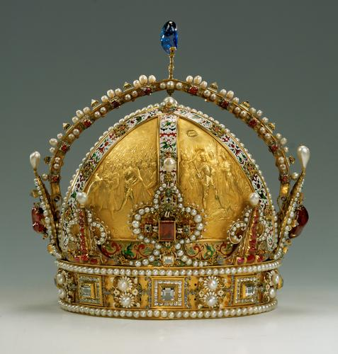 Click image for larger version  Name:AUSTRIA Corona Imperiale (lato dx).JPG Views:394 Size:41.3 KB ID:292275
