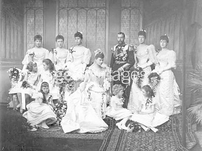 Click image for larger version  Name:Duke of York, later King George V and bride Princess Mary of Teck 2.jpg Views:549 Size:39.9 KB ID:40453
