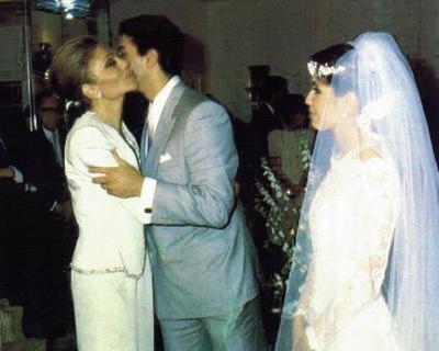 HIH Crown Prince Reza Pahlavi of Iran & Yasmine 1986 - The Royal Forums