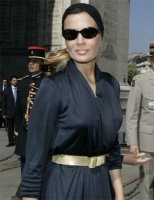 A beautiful wife of the Emir of Qatar