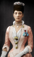 For those who have an interest in one of the most beautiful and beloved Queens of the United Kingdom, Queen Alexandra.